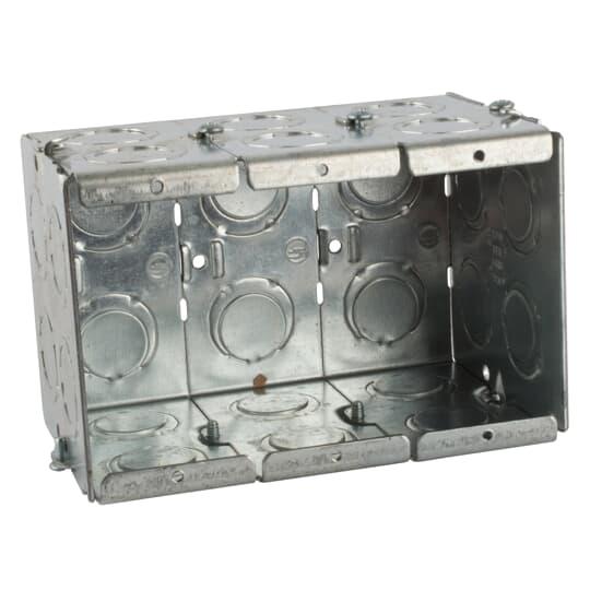 Steel City GW-335-G 3-Gang 3-1/2 Deep Steel Box