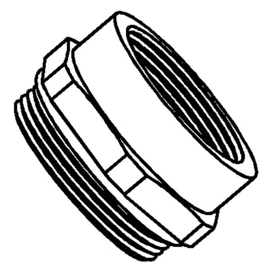 """T&B M2050 ADAPTER,M20 TO 1/2"""" NPT"""