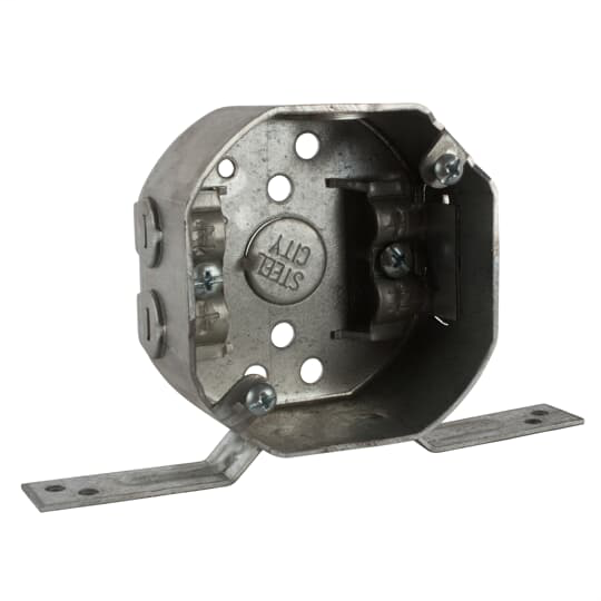 Steel City 24151-NV 3/2 Inch 11.8 In Galvanized Steel Octagon Box