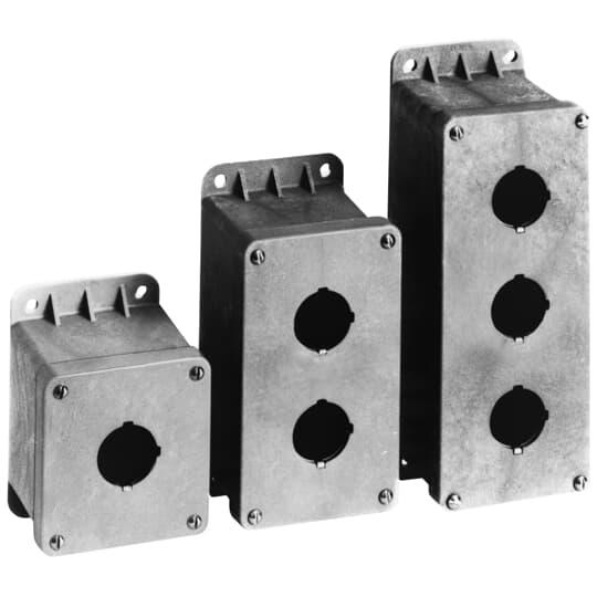 Carlon CP300N 3-Hole Push Button Enclosure