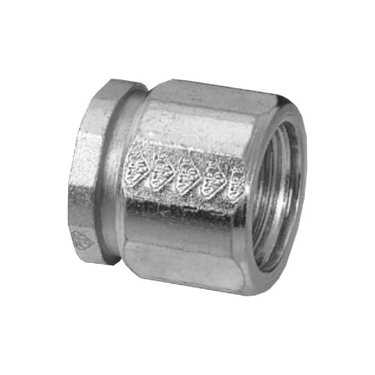 Steel City EK-406 2 Inch Rigid/IMC Steel 3-Piece Coupling