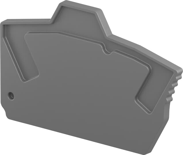 EK2.5 End Section - Dark Grey