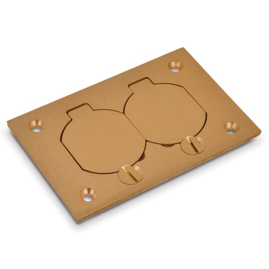 Steel City P-64-DS Brass Cover Plate