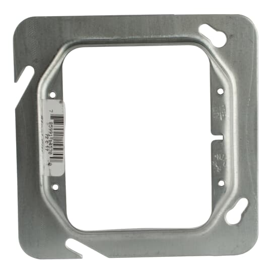 Steel City 72-C-17 4-11/16 Inch Side 2-Gang 1/2 Inch Steel Raised Square Box Cover