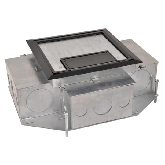 SC 665-AV2 REC FLR BOX, 4 COMP, 2-I