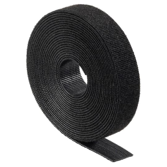 Ty-Rap FOR180-50-0 180 Inch 50 lb Black Cable Tie for Rolled Hook