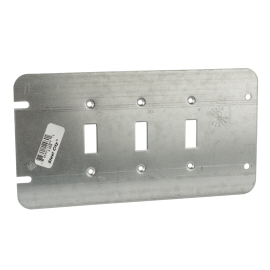 Steel City 3-GCS 3-Gang Toggle Switche Cover