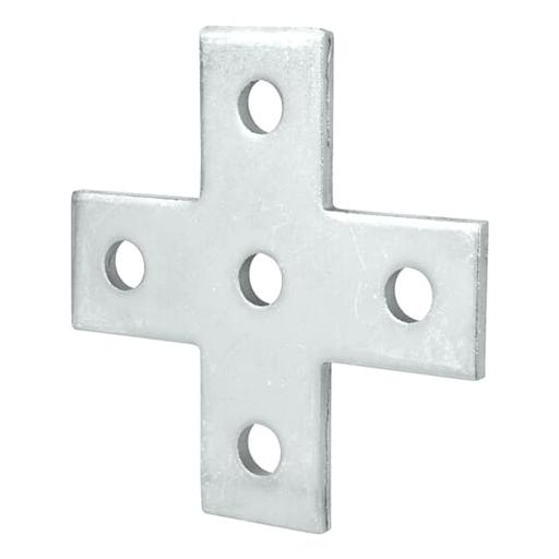 Mayer-5-HOLE CROSS PLT LEN/W 5-3/8IN EG-1
