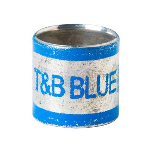 2-PC INNER SLV CONN BLUE I.D. 0.375