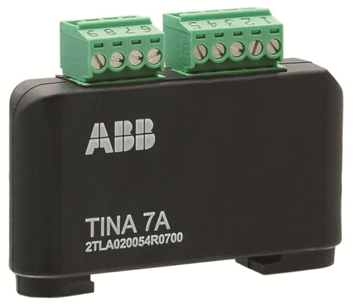 Tina 7A Adapter 2 contacts inside cabinet