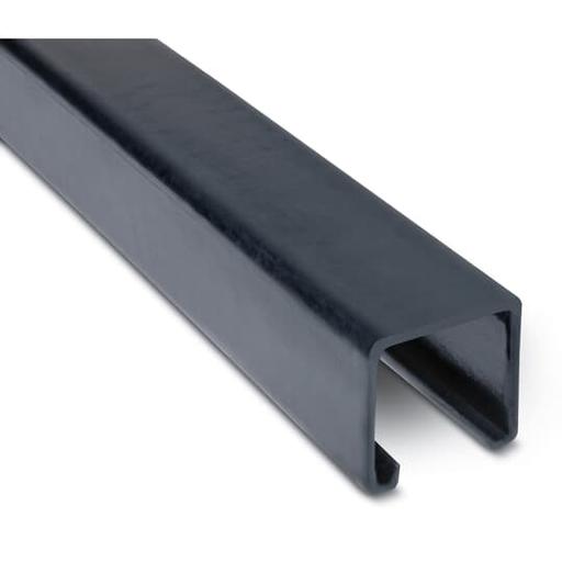 PVC CTD SHALLOW CHANNEL STRUT GRY