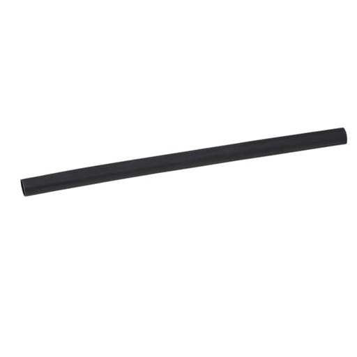 HTSHK THIN WALL 1/4IN I.D. BLK 25FT