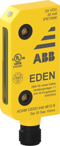 Adam OSSD-Info M12-8 connector