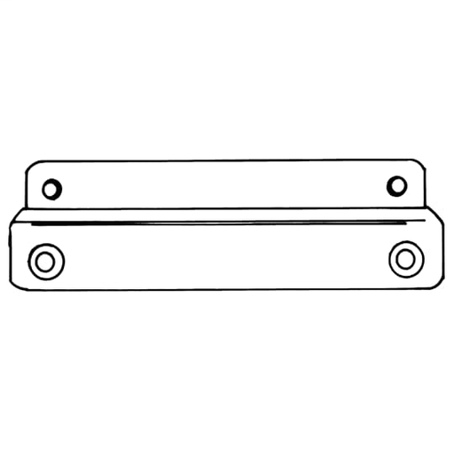 12 INCH NEMA MOUNTING RAIL KIT