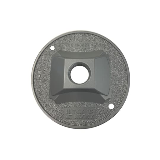 Mayer-1 HOLE OUTDOOR ROUND COVER SILVER-1