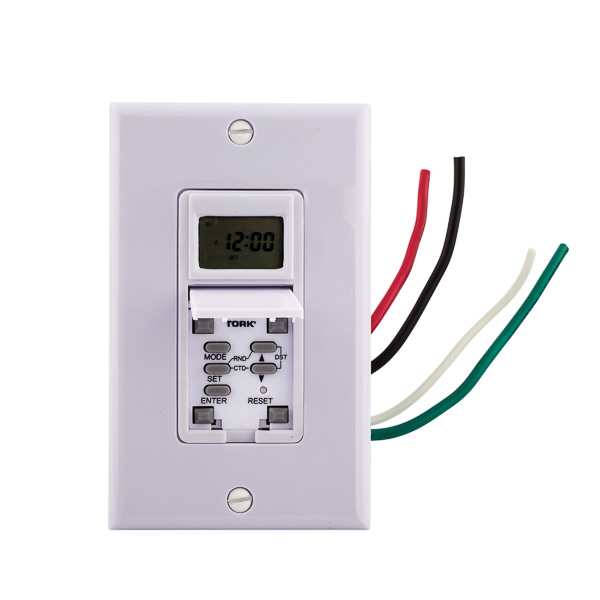 Astro Wall Switch Timer 15A 125V White