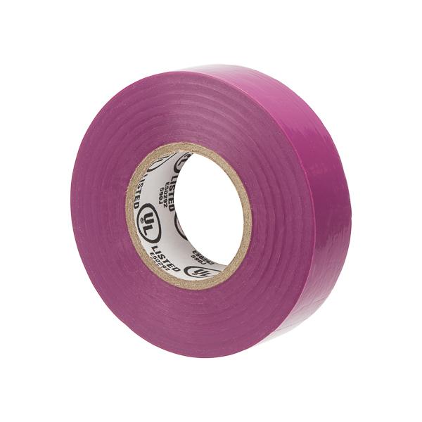 "Mayer-General Purpose Electrical Tape Purple, 3/4"" X 60 Ft Vinyl 7mil, 600v, -7c to 80c, UL CSA-1"