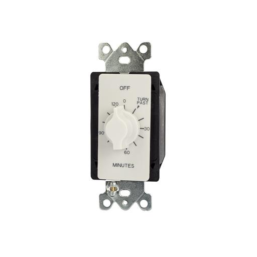 TORK A502HW 2HR SPRING WOUND TMR SPDT 125-277V WHITE