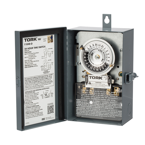 24 Hour Time Switch 40A 120V DPST Outd