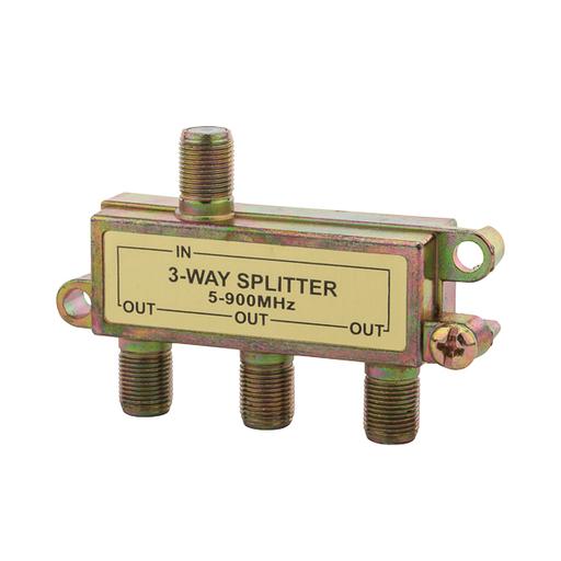 Coax Splitter Three Way 900Mghz