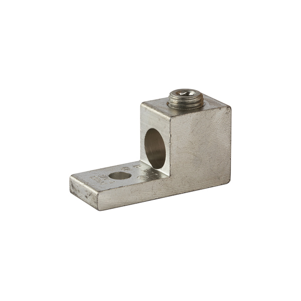 NSI 3/0T 0.26 Inch 6 to 3/0 AWG Aluminum 1-Port 1-Hole Dual Rated Lug