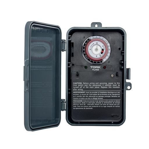 Mayer-24 Hour Timer 40A 120-277V DPDT Outdoor-1
