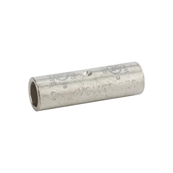 NSI SC-3 3 AWG White Tinned Copper Standard Barrel 2-Conductor Compression Splice