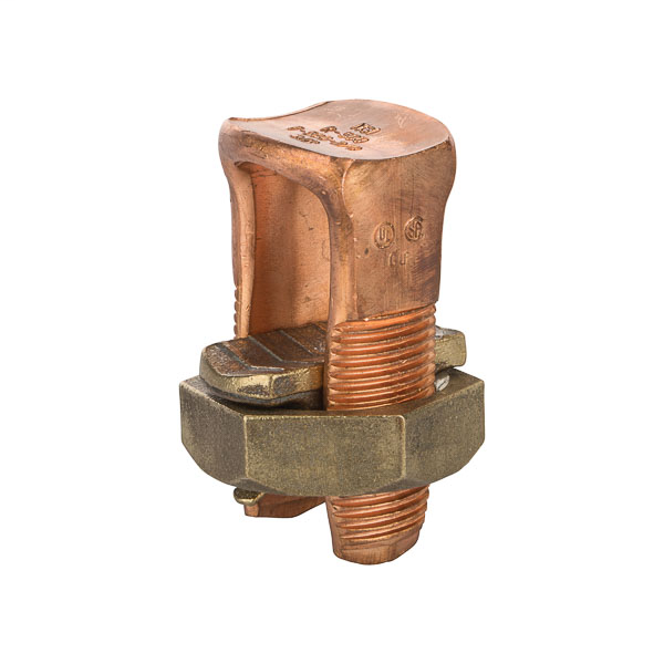 NSI N-500 500 MCM Copper 2-Conductor Split Bolt Connector