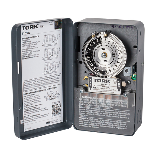 Mayer-24Hr Time Switch 40A 120/208-277V Indoor-1