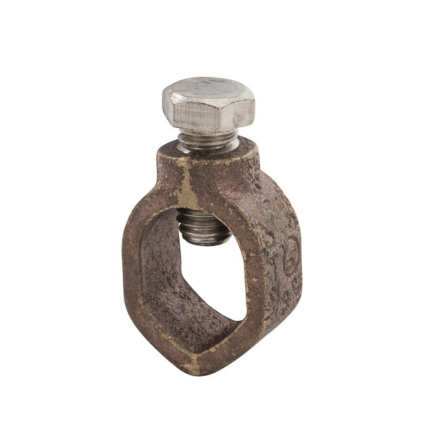 NSI GRC-58 5/8 Inch 10 to 1/0 AWG Silicon Bronze Standard Duty Ground Rod Clamp