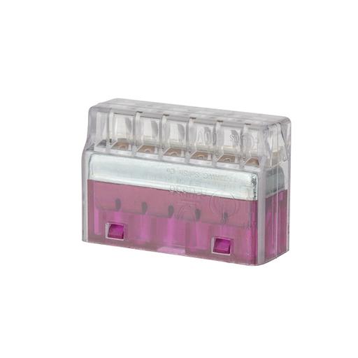 Mayer-Easy-Twist™ Push-In-Connector (6 Wire) Purple-1