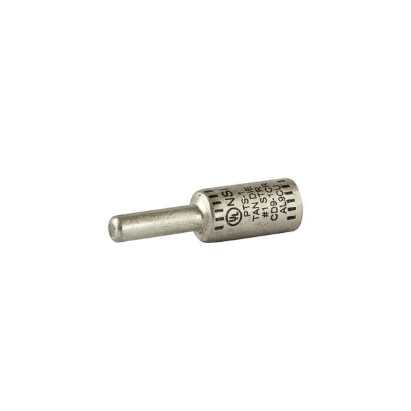 NSI Aluminum Pin Terminal Al Pin 1 AWG