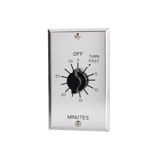 Mayer-30 Min Timer 125-277V SPDT Metal Plate-1