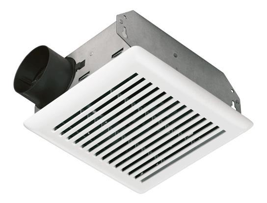 NUTONE 50 CFM Bath Ventilation Fan with White Grille