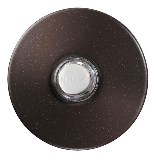 NUTONE PB41LBR Round Pushbutton,Oil-Rubbed Bronze