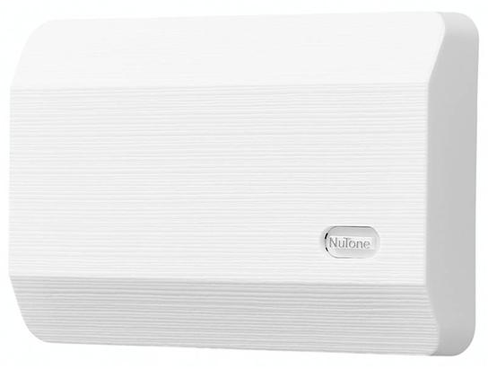 """Decorative Wired Door Chime, 8-1/8""""w x 5-1/2""""h x 2-3/8""""d, in White"""