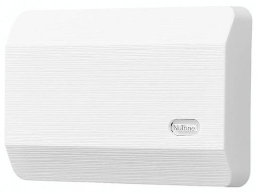 """Mayer-Decorative Wired Door Chime, 8-1/8""""w x 5-1/2""""h x 2-3/8""""d, in White-1"""