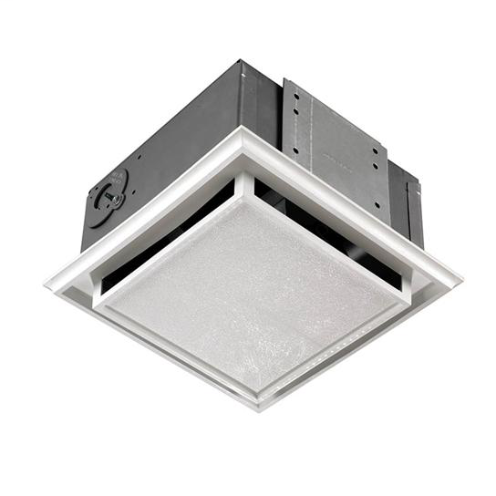 NUTONE 682NT Duct-free Fan; Ventilation Fan with White Grille