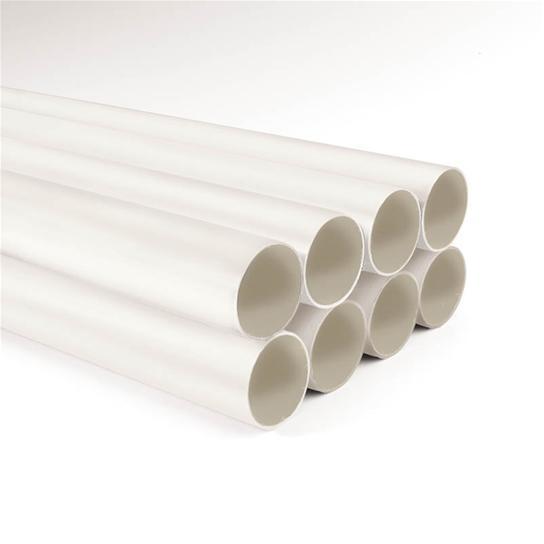 Broan 3808 2 Inch x 8 Foot White Semi Rigid PVC Tubing