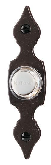 NUTONE PB29LR Pushbutton,Nutone,7/8