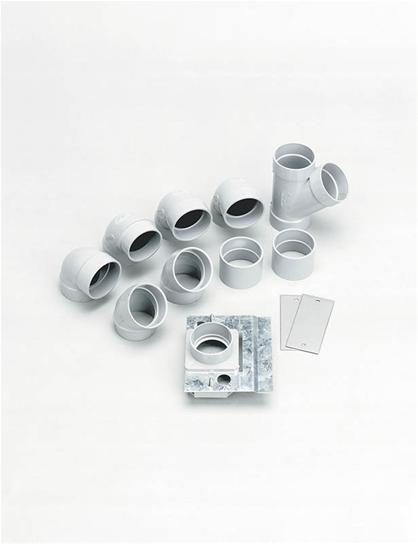 Broan,CI3301RK,Rough-In Kit for one inlet add-on. Use with 330 and CI335 Series Inlets.
