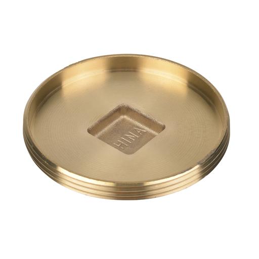 """Oatey® 4"""" 185 Brass cleanout plug"""