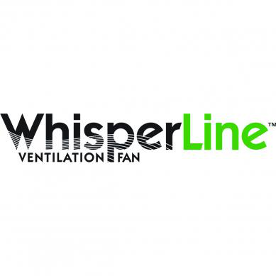 WhisperLine,FV-10NLF1E,WhisperLine fan 120CFM 1.0sone 5pos conn