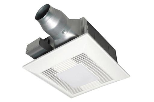 """PAN FV-0811VFL5 ( PHASE OUT ) 80-110 CFM 5-5/8""""H W/2 13W GU10 CFL LAMPS"""