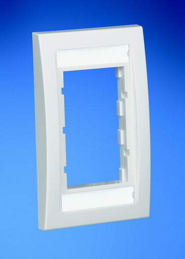 Mayer-Faceplate Frame, Single Gang, Executive, Electric Ivory-1
