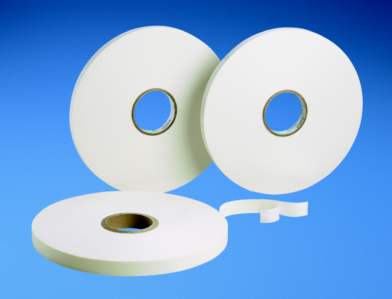 """Mayer-Foam tape, 1/32"""" (thick) x 1"""" (wide) x 72 yards, acrylic adhesive, white, 1 pc. package quantity.-1"""