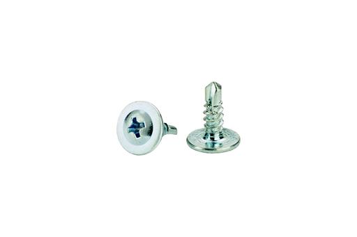 """#8 x 1/2"""" low-profile, self-tapping screw"""