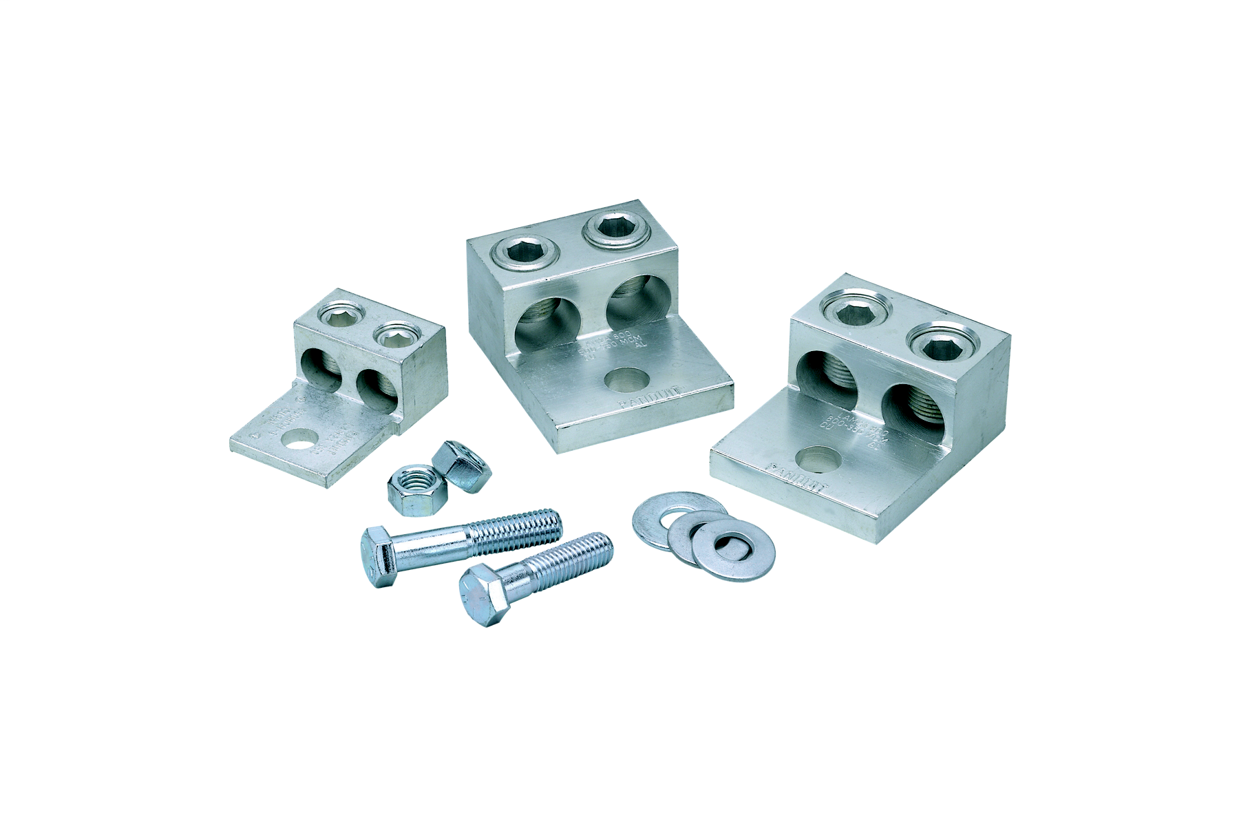 Mayer-Aluminum Mechanical Transformer Lug Kit, #14 - #2 AWG and #6 AWG - 250 kcmil Conductors-1