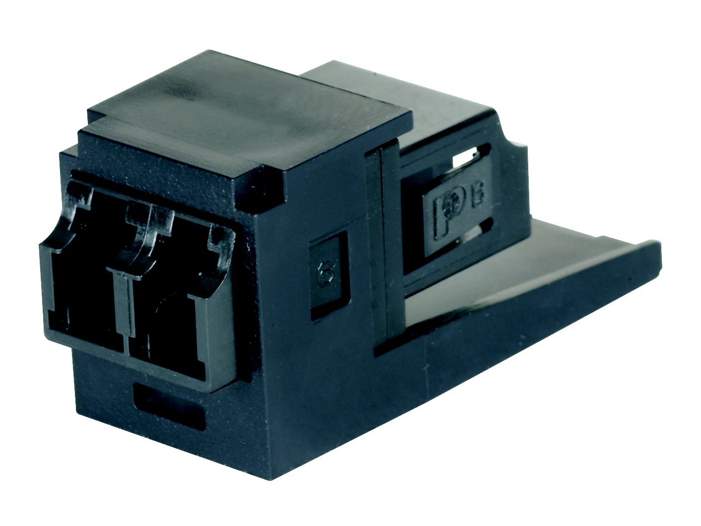 Dupl LC SR./SR. Fibre Adapter (Blue) with Module