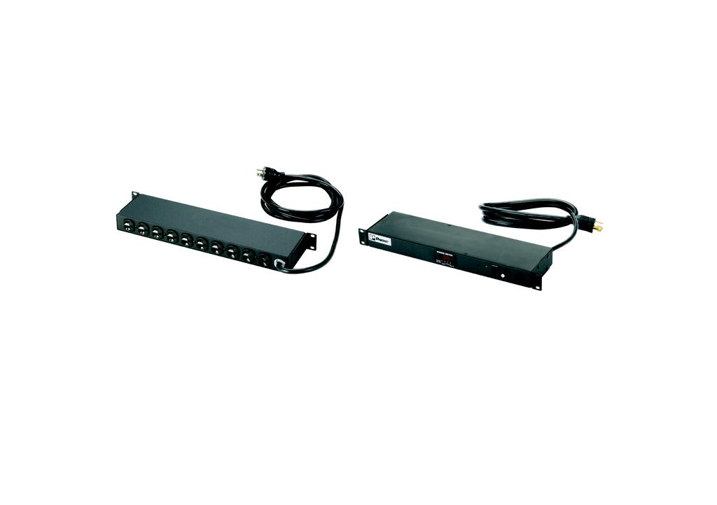 PAND CMRPSH20SMTL Horizontal PowerStrip 20 A 120V 10 NE